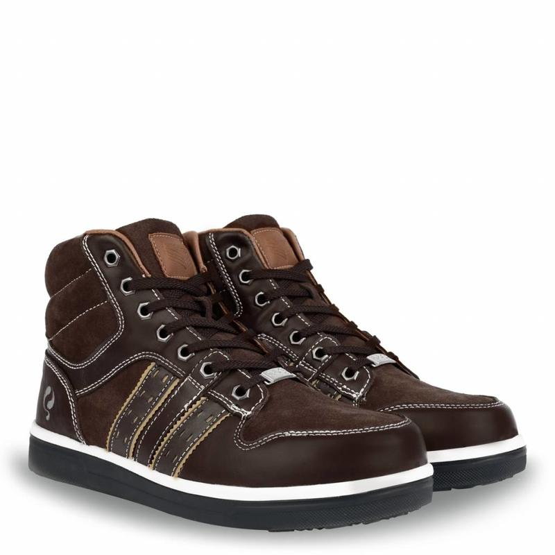 Q1905 Safety Boot Olympic Dk Brown QS0100