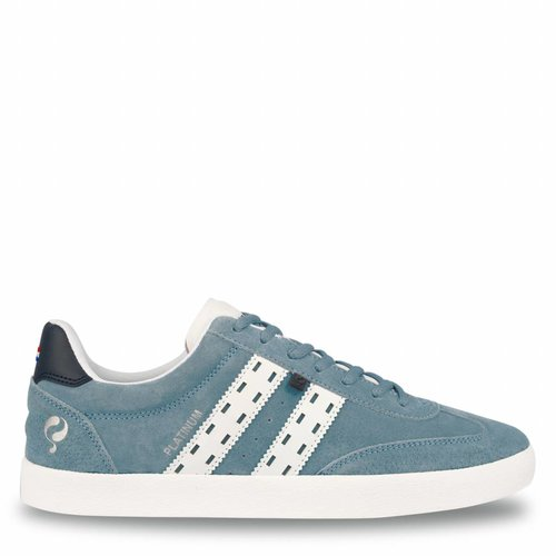 Men's Sneaker Platinum Sky Blue / Deep Navy