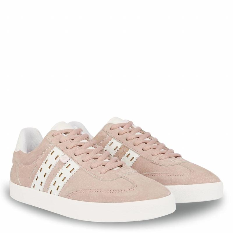 Q1905 Dames Sneaker Platinum Lady Violet Rose / White