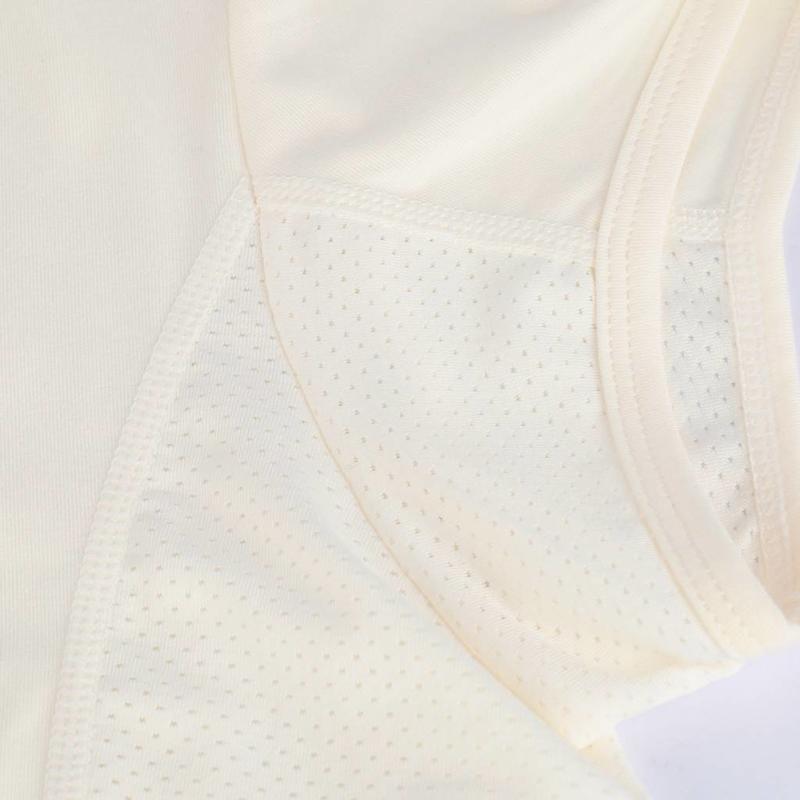 Q1905 Women's Tee Brush mesh Q Snow White