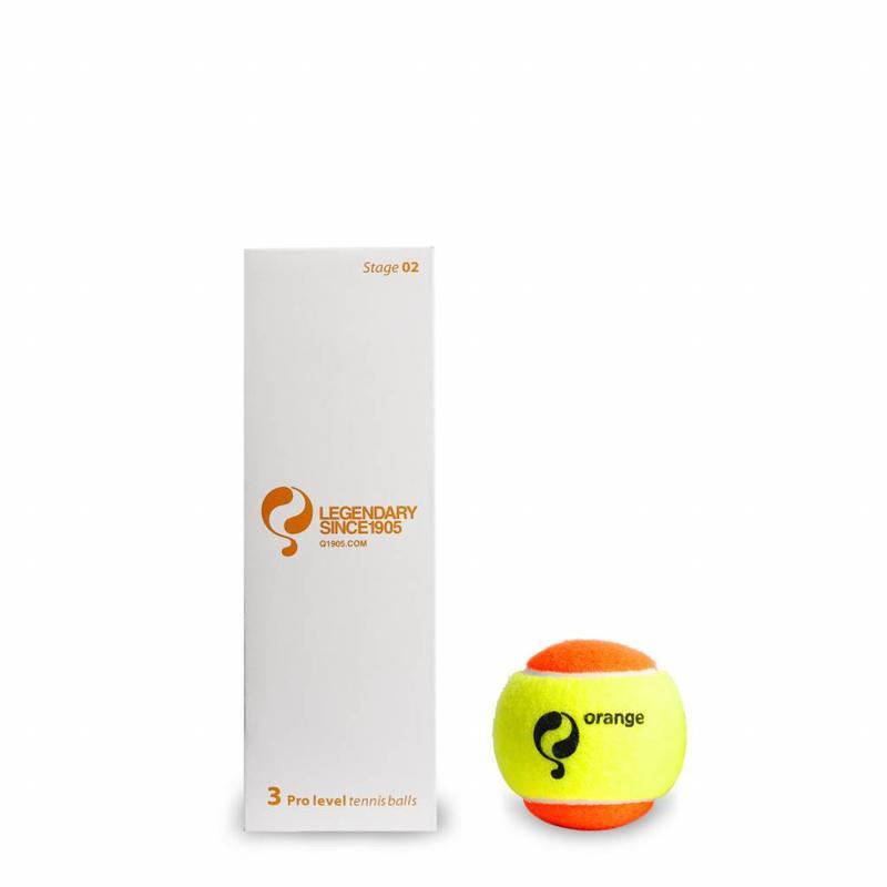 Q1905 Q-Tennisbal ST2 3pcs/can Yellow-Orange