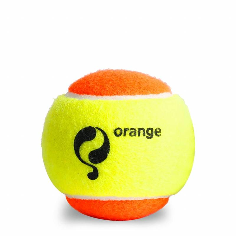 Q1905 Q-Tennis Ball ST2 3pcs/can Yellow-Orange