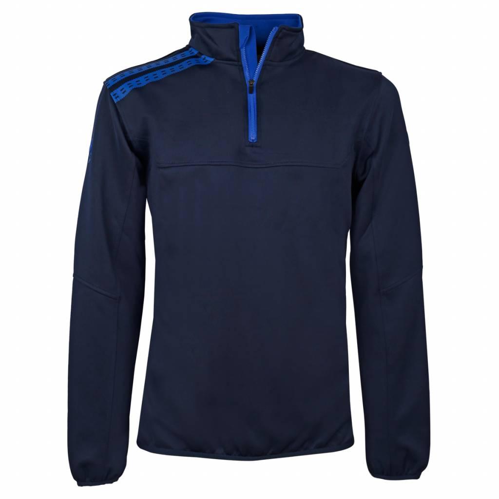 Q1905 Heren Sweater Vreven Navy / Blauw