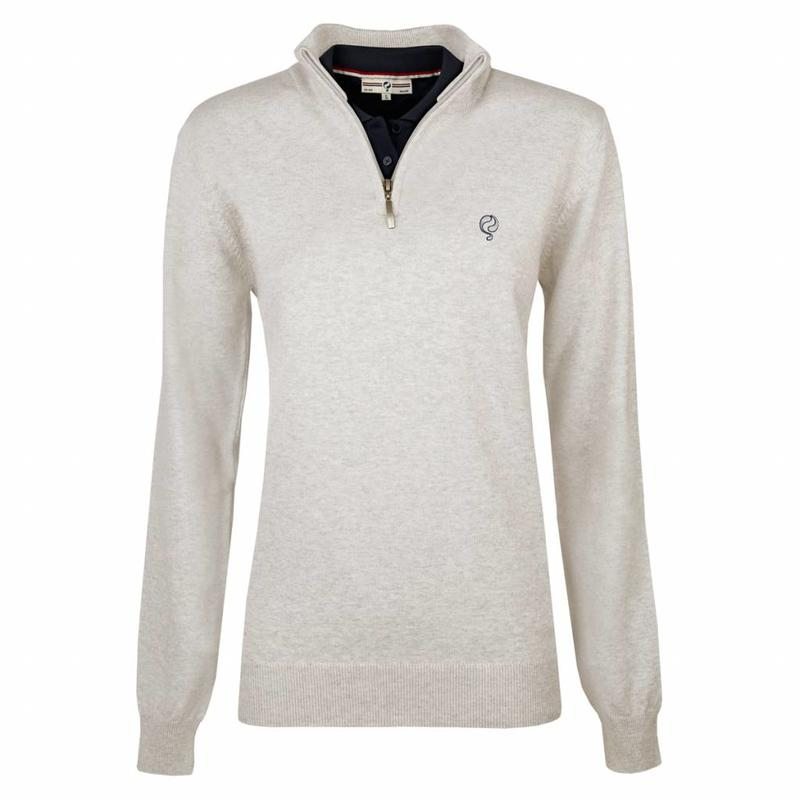 Q1905 Women's Pullover Half Zip Bellwood Greyhound