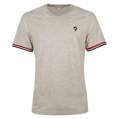 Heren T-shirt Zandvoort Grey Melee