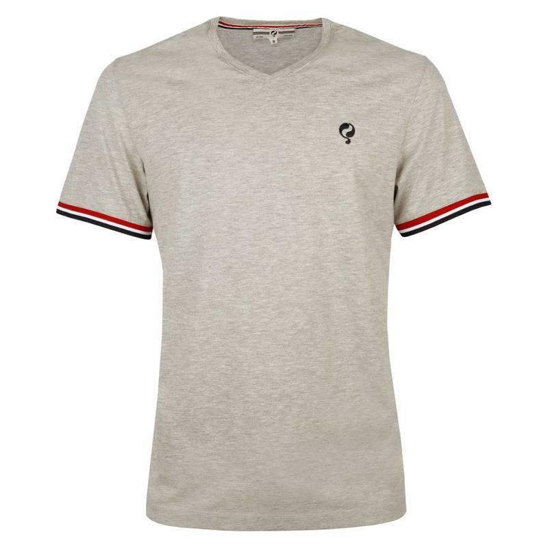 Q1905 Heren T-shirt Zandvoort Grey Melee