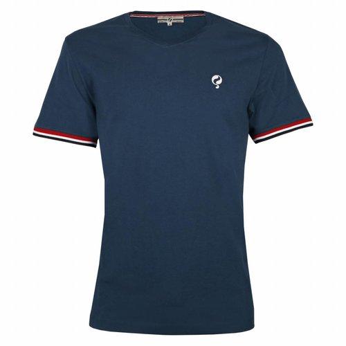 Heren T-shirt Zandvoort Denim Blue