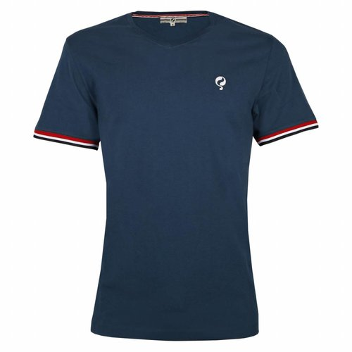 Men's T-shirt Zandvoort Denim Blue