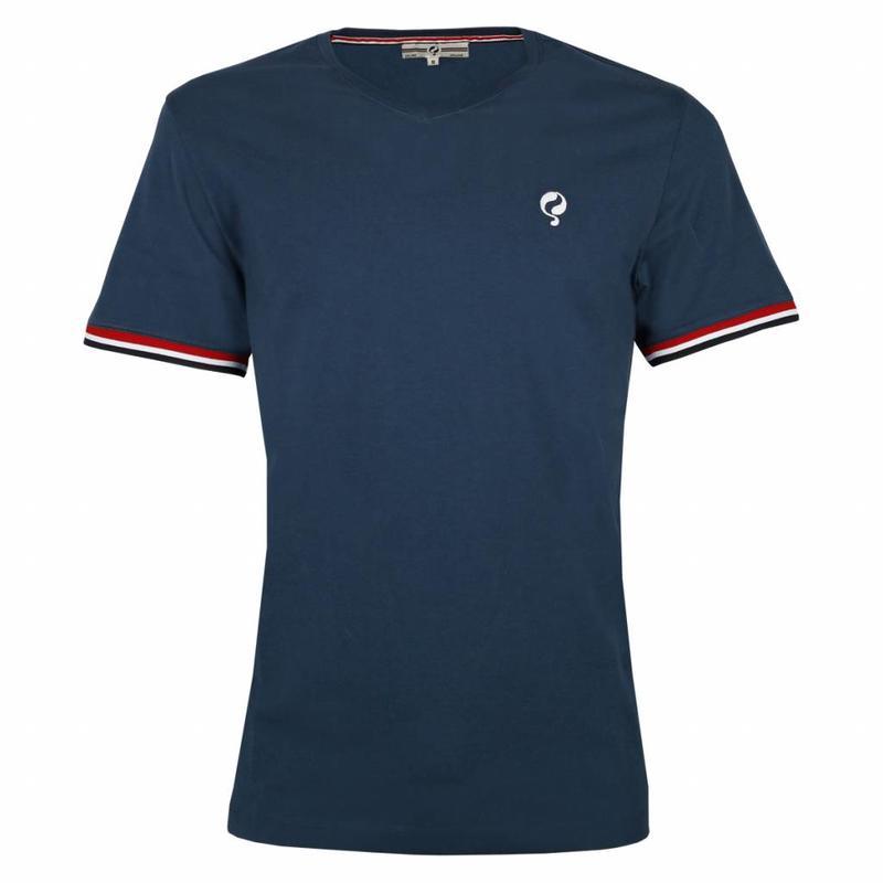 Q1905 Men's T-shirt Zandvoort Denim Blue