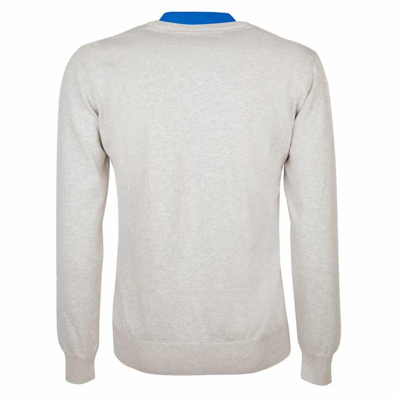 Q1905 Heren Pullover V-neck Marden Greyhound