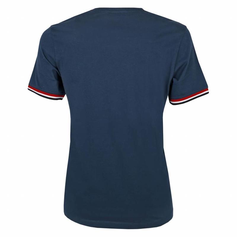Q1905 Heren T-shirt Zandvoort Denim Blue