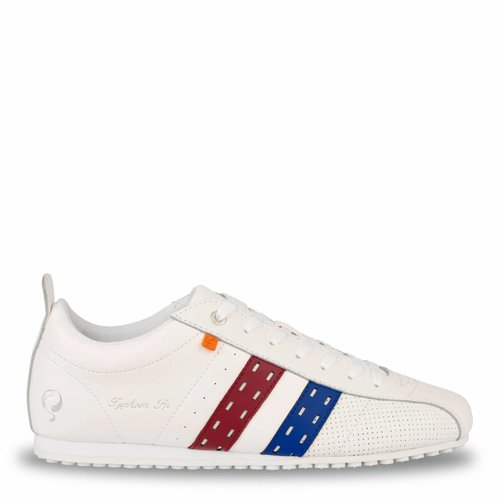 Heren Sneaker Typhoon SP White / Red-Skydiver