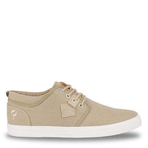 Heren Sneaker Noordwijk Taupe Grey