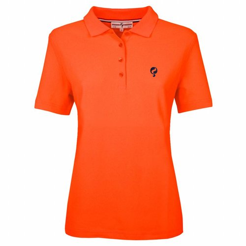 Dames Polo Square Neon Orange