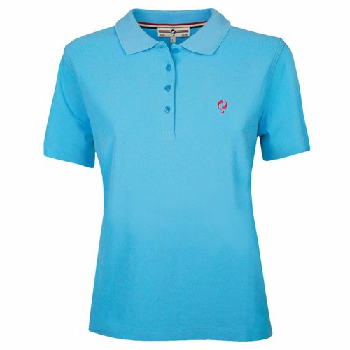 Dames Polo Square Aquarius
