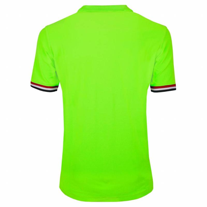 Q1905 Heren JL Polo Neon Green