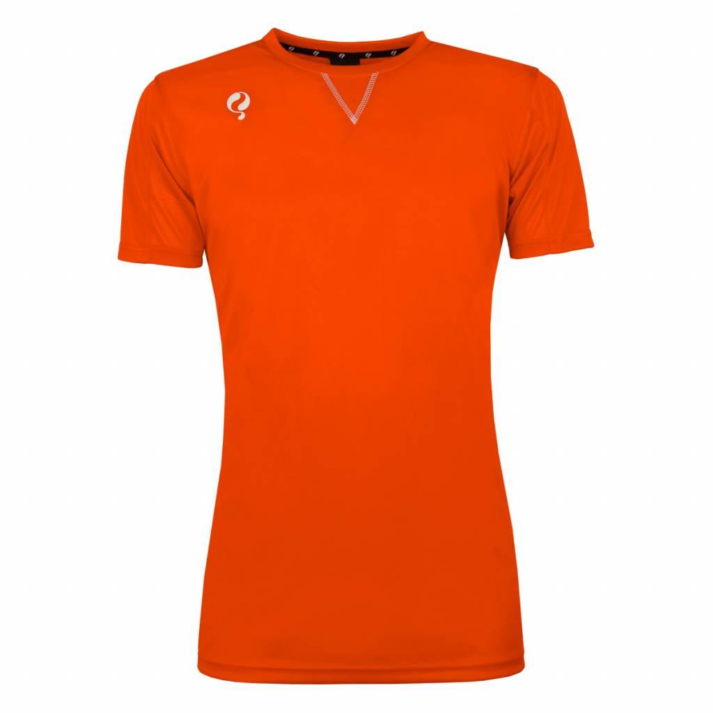 Q1905 Heren Trainingsshirt Haye Oranje / Wit