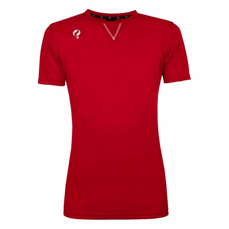 Q1905 Heren Trainingsshirt Haye Rood / Wit