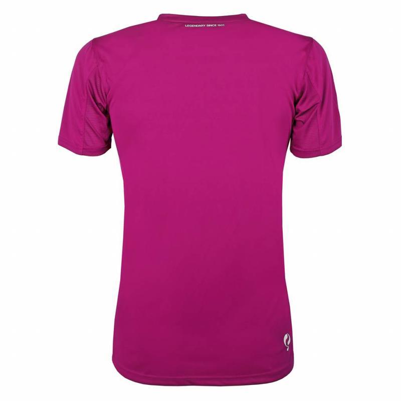 Q1905 Heren Trainingsshirt Haye Rose / Wit