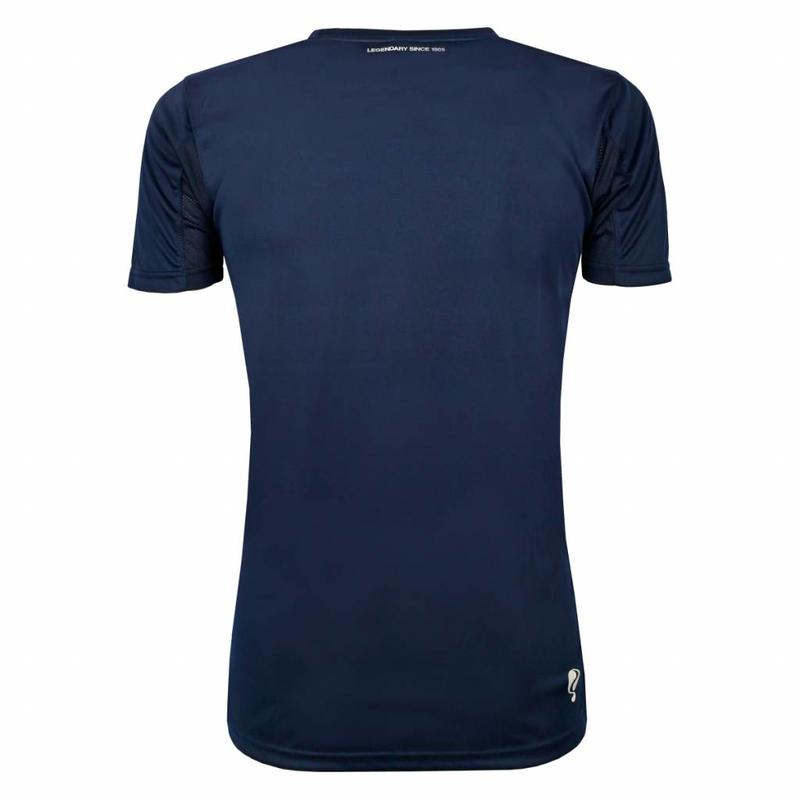 Q1905 Heren Trainingsshirt Haye Navy / Wit