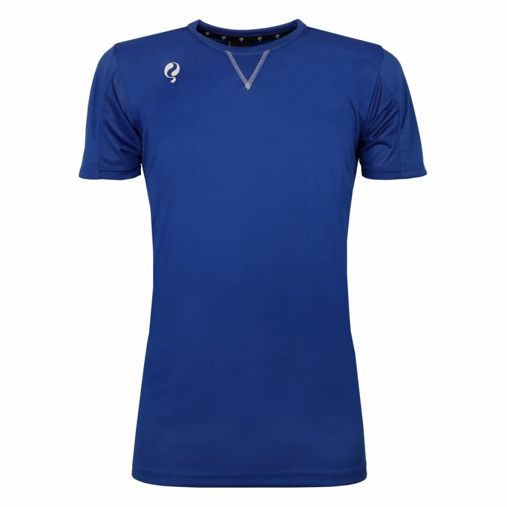 Q1905 Heren Trainingsshirt Haye Blauw / Wit