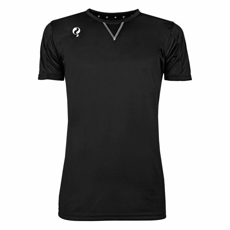 Q1905 Heren Trainingsshirt Haye Zwart / Wit