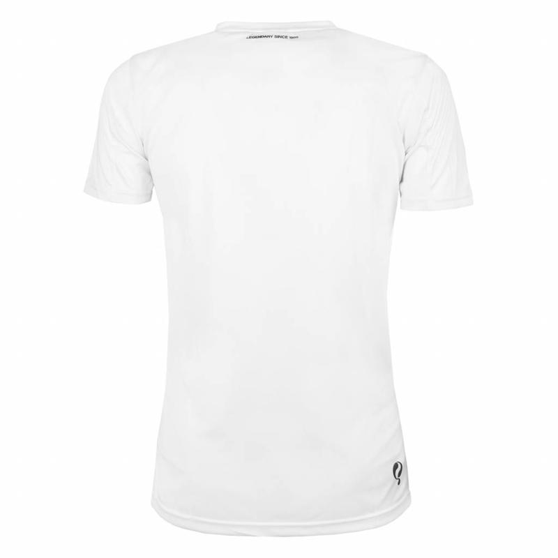 Q1905 Heren Trainingsshirt Haye Wit / Zwart