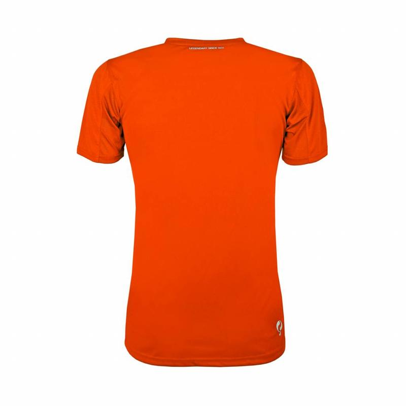 Q1905 Kids Trainingsshirt Haye Oranje / Wit