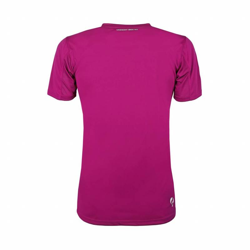 Q1905 Kids Trainingsshirt Haye Rose / Wit