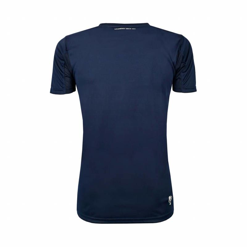 Q1905 Kids Trainingsshirt Haye Navy / Wit