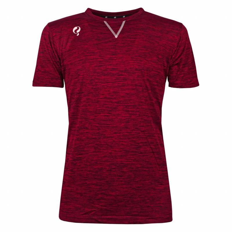 Q1905 Men's Training Shirt Droste Rood / Zwart