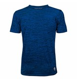 Q1905 Heren Trainingsshirt Droste Blauw / Zwart