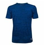 Q1905 Men's Training Shirt Droste Blauw / Zwart