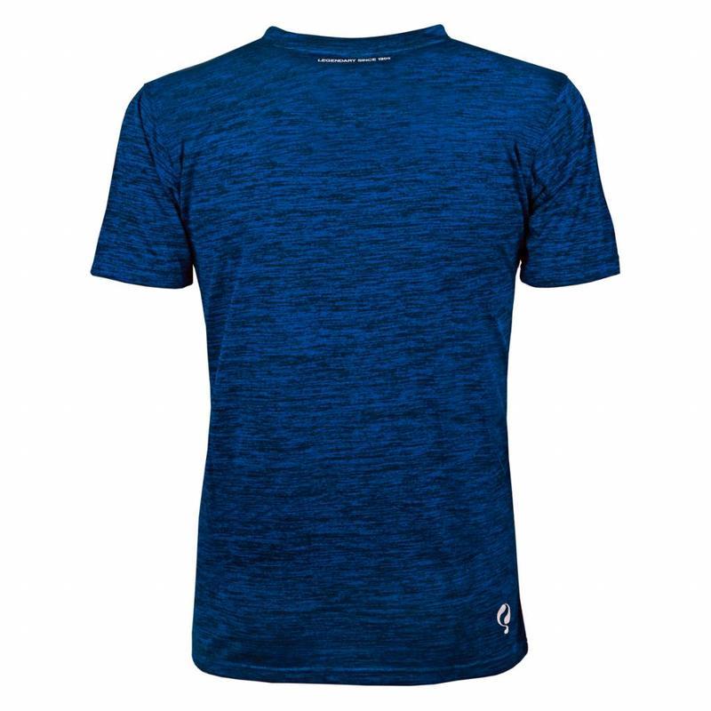 Men's Training Shirt Droste Blauw / Zwart