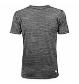 Heren Trainingsshirt Droste Grijs / Zwart