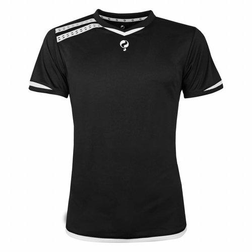 Heren Warming-up shirt Ayoub Zwart / Wit