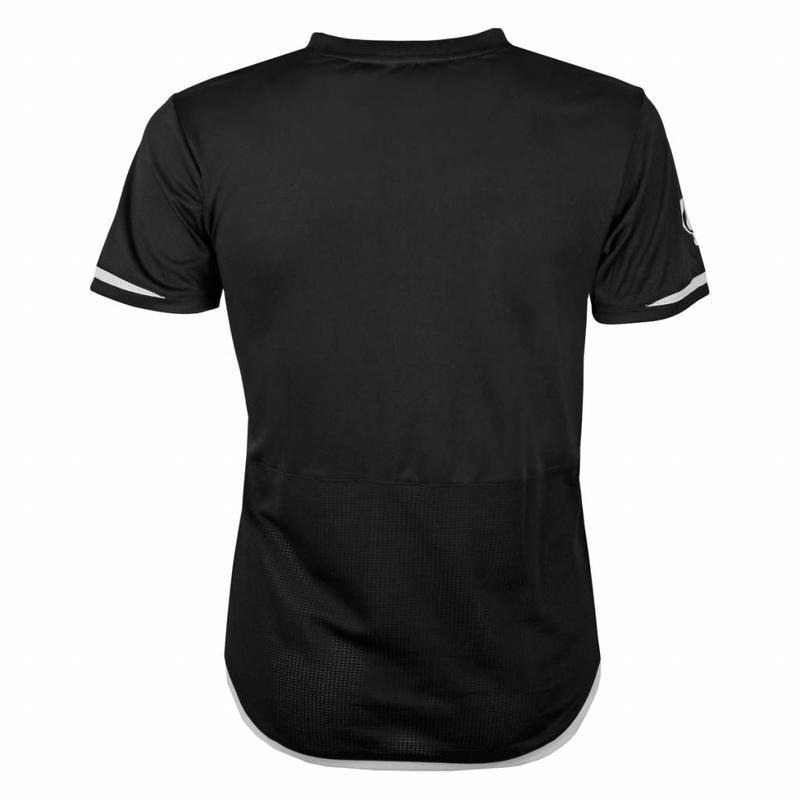 Q1905 Heren Warming-up shirt Ayoub Zwart / Wit