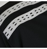 Heren Warming-up shirt Ayoub Zwart / Wit