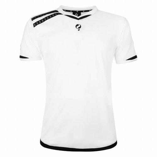 Heren Warming-up shirt Ayoub Wit / Zwart