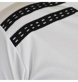 Q1905 Heren Warming-up shirt Ayoub Wit / Zwart