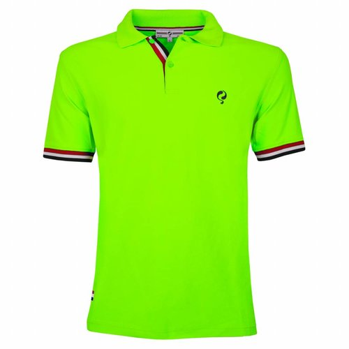 Heren JL Polo Neon Green
