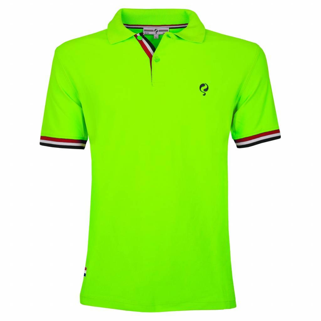 Q1905 Heren Polo Joost Luiten Neon Green