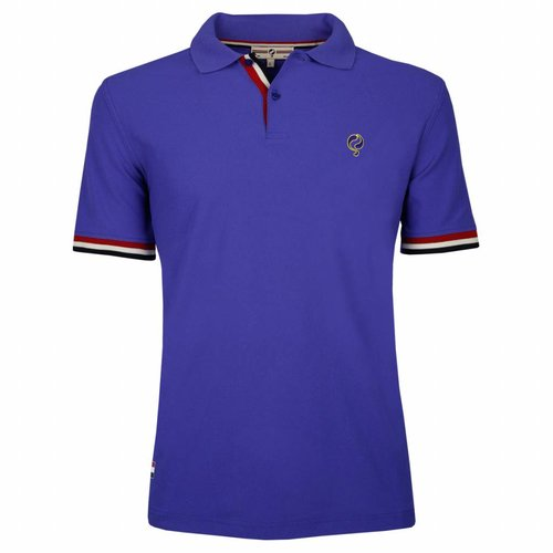 Heren JL Polo Dazzling Blue
