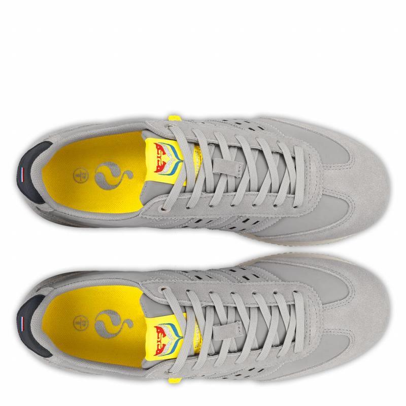 Heren Sneaker Cycloon Greyhound / Deep Navy