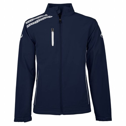 Men's Softshell Kashia Navy / Wit