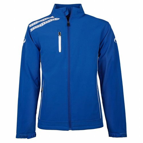 Men's Softshell Kashia Blauw / Wit