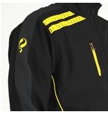Heren Jacket Kendo Black / Yellow - Black / Silver