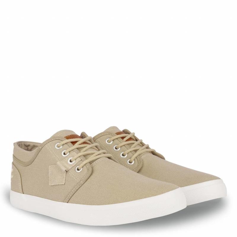 Q1905 Heren Sneaker Noordwijk Taupe Grey
