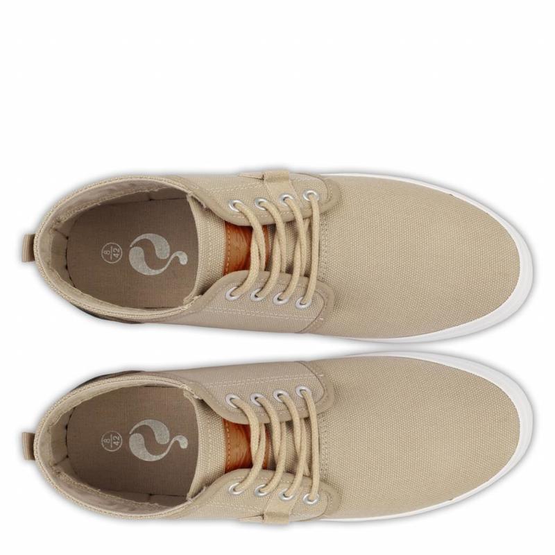 Men's Sneaker Noordwijk Taupe Grey