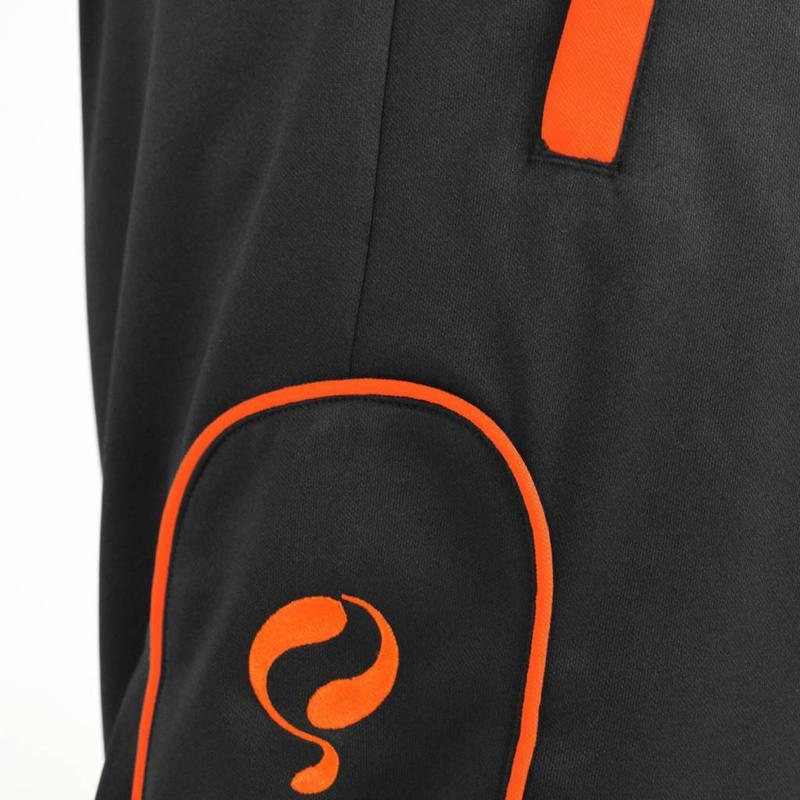 Q1905 Heren Presentatiepak Stans Zwart / Oranje